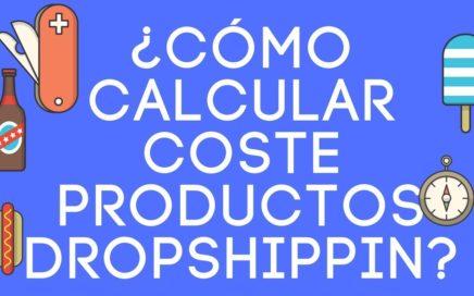 Dropshipping: ¿Cómo calcular el coste de los productos?  ganar dinero online shopify ecommerce