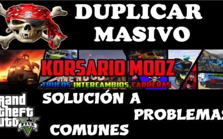 DUPLICAR MASIVO TRUCO GTA 5 ONLINE MUY IMPORTANTE SOLUCIONES NECESARIAS//TIENES QUE VERLO!!!