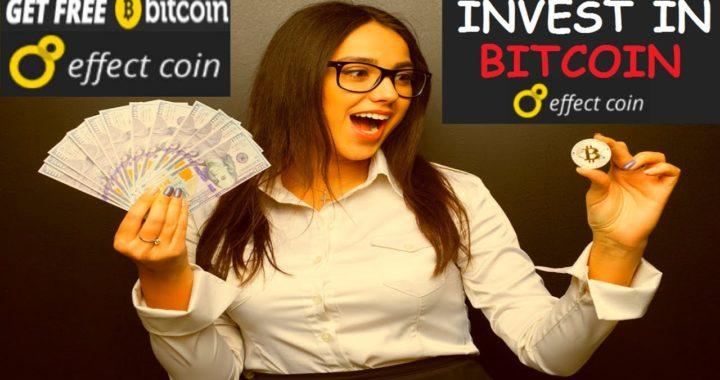 EFFECTCOIN.IO  Bonus de Registro Gratis de $5,00 USD (0.0005BTC) Gana 1% diario por 30 días