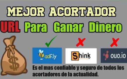 EL MEJOR ACORTADOR DE LINKS 2018 PARA GANAR DINERO - PAGOS A PAYPAL/COMO CREAR TU CUENTA..