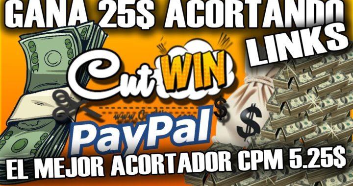El mejor acortador de Links que mas paga | Gana dinero acortando enlaces PayPal + Comprobante
