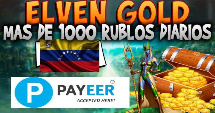 Elvengold | Gana 1000 rublos al dia  | Prueba de Pago y Explicacion detallada del Polvo Estelar