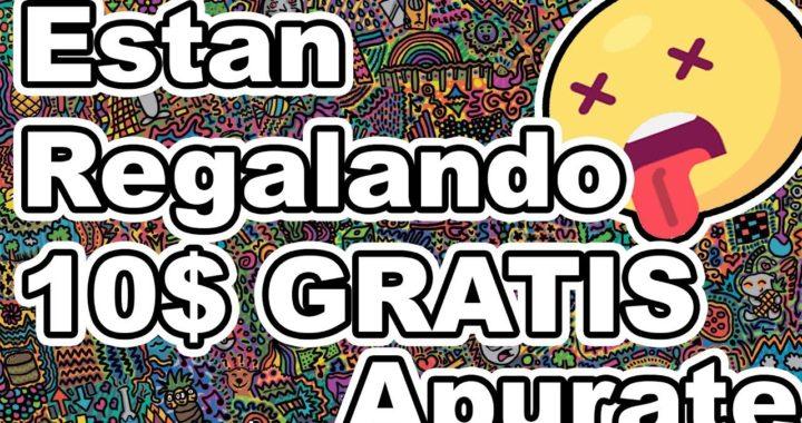 Esta Pagina Esta Regalando 10$ GRATIS Antes del 1 de junio RApido!!