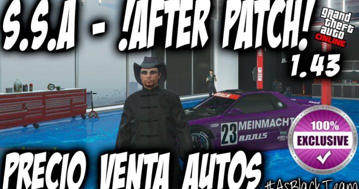 *EXCLUSIVO* - SIN AYUDA - AFTER PATCH #AsBlackTeam (INFO)- GTA5 - PRECIO VENTA COCHES - (PS4 - XB1)