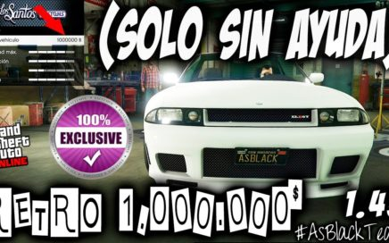 EXCLUSIVO - SIN AYUDA - RETRO 1.000.000$ - GTA5 - VENDER sin PERDER BUG - SIN MAZE BANK - (PS4- XB1)