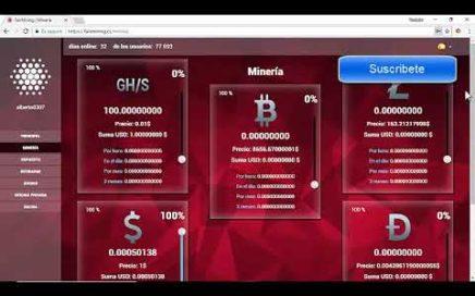 FAIRMINING - Mineria de Bitcoins y Dólares en la Nube - 100 GH/S