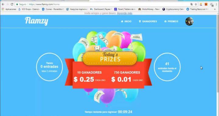 Gana 10$ Solo Por Ver Video | PAYPAL | FLAMZY | Ganar Dinero Diario Facil y Rapido