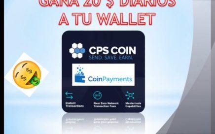 GANA 20$ DIARIOS CON ESTA CRIPTOMONEDA DIRECTO A TU BILLETERA