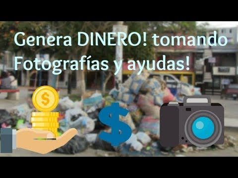 Gana Dinero con tomar Fotografías!