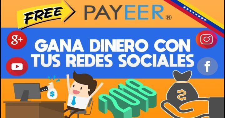 GANA DINERO CON TUS REDES SOCIALES | VKTARGET - IPWEB | GANAR RUBLOS