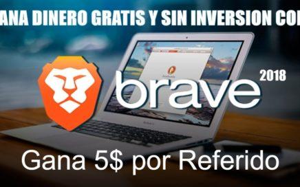 Gana Dinero Gratis! 2018 con BRAVE   Gana 5$ por cada persona que invites