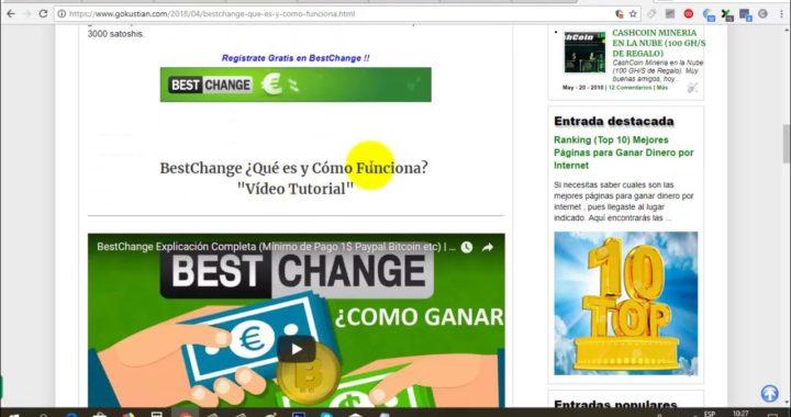 Gana Dinero Gratis a Paypal con BestChange | BestChange Prueba de Pago | Gokustian