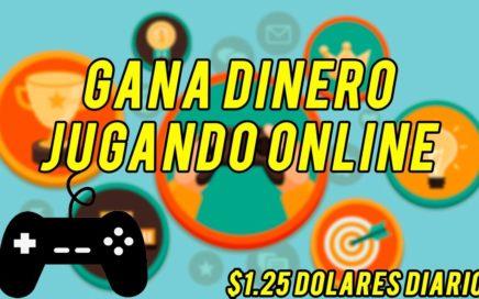 Gana Dinero Jugando Online | $1.25 Dolares Diarios | YoTrabajoEnCasa