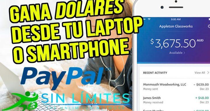 GANA DINERO ONLINE | $5,99 CONSTANTEMENTE | SISTEMA PARA GANAR DOLARES $$ SIN LÍMITES $$
