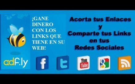 Gana dinero por compartir enlaces en Internet! (ADF.LY)