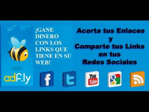 Gana dinero por compartir enlaces en Internet! (ADF.LY)