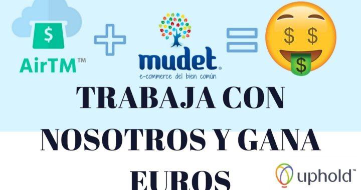 GANA DINERO POR INTERNET CON AIRTM Y MUDET