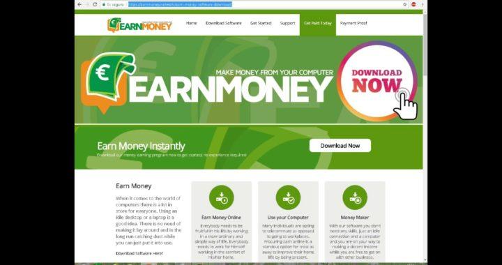 Gana dinero solo dejando tu pc encendida (EARMONEY) sin hacer nada