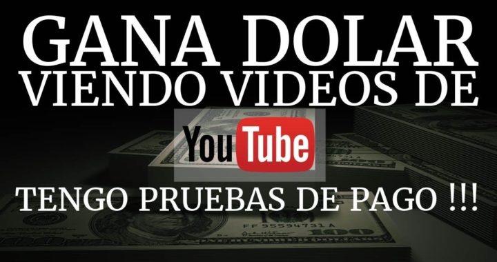 Gana dinero viendo videos hasta 100 dolares diarios para paypal | nuevo metodo 2018 |