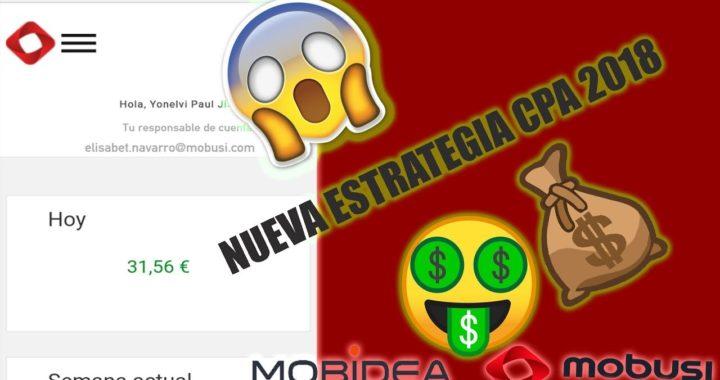 GANAR DINERO DIARIO CON CPA 2018 NUEVA ESTRATEGIA - +100$ DOLARES SEMANAL