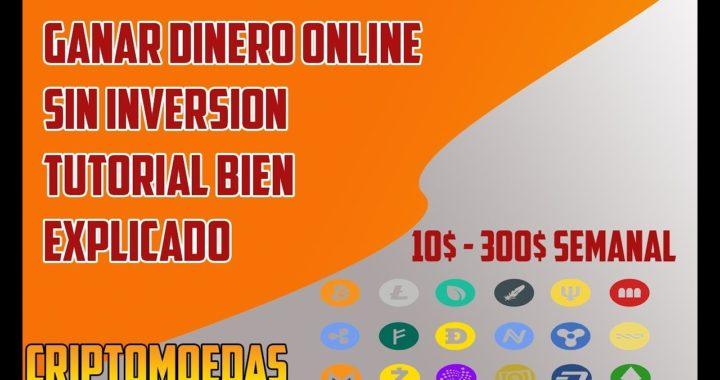 GANAR DINERO ONLINE | 10$ POR REGISTRARTE | Bien Explicado 2018| ganar Criptomoneda. COINPAYMENTS