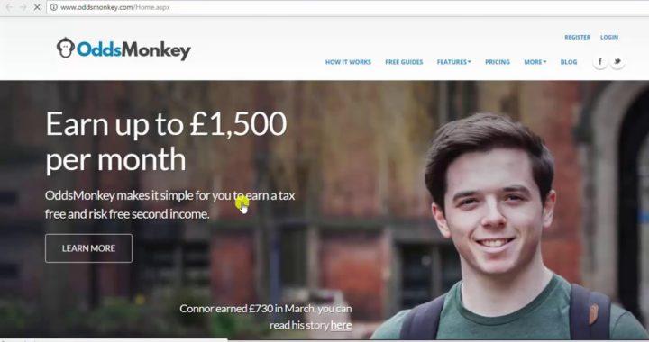 Ganar dinero online 100% Garantizado ¿Como abrir tu cuenta de oddsmonkey?