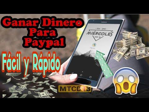 Ganar Dinero PARA PAYPAL FACIL Y RÁPIDO   Gana dinero desde tu celular 100% garantizado Dinero Real