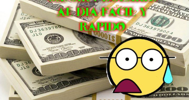 Ganar dinero por Internet (2015). big money  pay pal