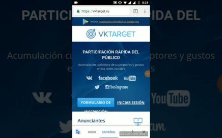 """""""Ganar dinero sin invertir  desde casa con VK target""""(PayPal)(rublos)(bitcoin)"""