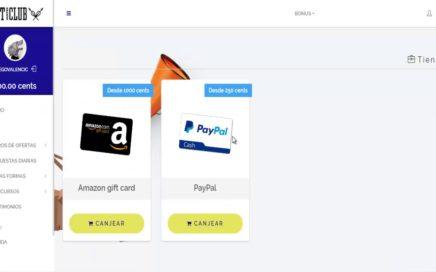 GiftHunterClub Pagina para ganar dinero facil en internet | Dinero facil sin esfuerzo
