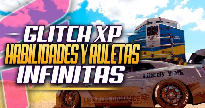 Glitch XP, HABILIDADES y RULETAS Infinitas, FUNCIONANDO 2018 - Forza Horizon 3 Tutorial