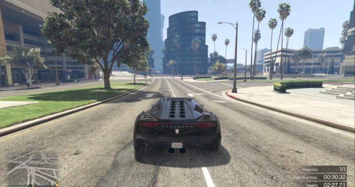 GTA 5 haciendo carreas para ganar dinero online