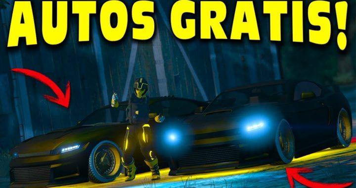 GTA 5 ONLINE - TRUCO AUTOS GRATIS *SE GUARDAN TODOS* (PS4 Y XBOX ONE)