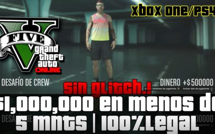 GTA V X1/PS4 - 1 MILLON EN 5 MNTS | Legal | Dinero Infinito | RAPIDISIMO