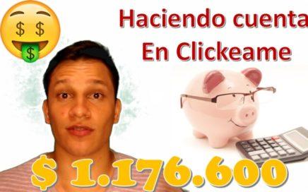 Haciendo Cuentas en Clickeame