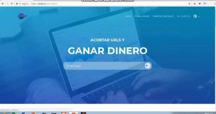 ICUTIT CA / El Acortador  que mas Paga en 2018  via PayPal 1$ dolar