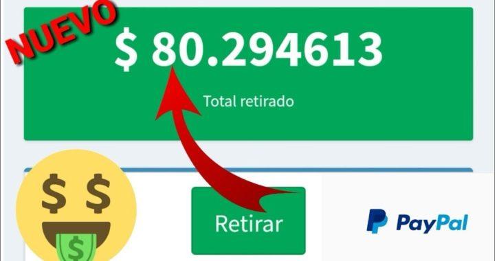 INCREIBLE APP PARA GANAR 50 DOLARES EN PAYPAL 2018/ ganar dinero en PayPal brutal mente 2018