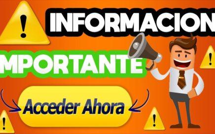 !! INFORMACIÓN IMPORTANTE!! | GANAR RUBLOS |