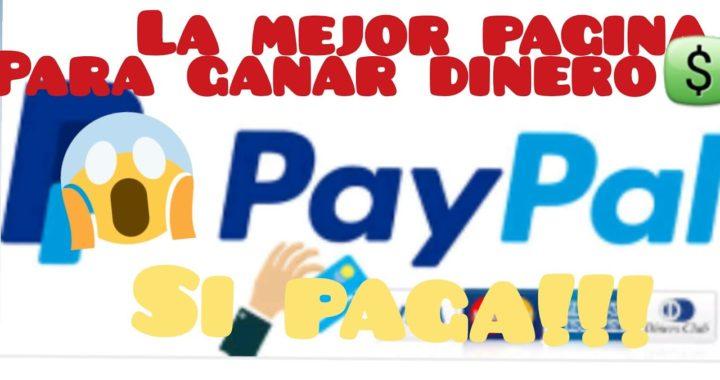 LA MEJOR PAGINA PARA PODER GANAR DINERO, | DINERO EN INTERNET, | ESTA PAGINA SI PAGA, | GANA DINERO!