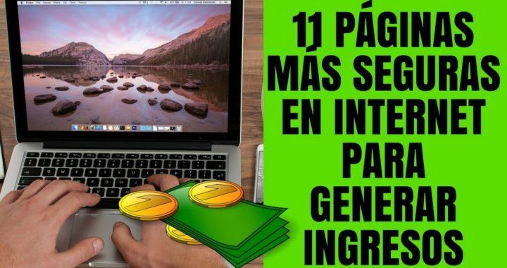 Las 11 PÁGINAS MÁS CONFIABLES para Trabajar y Ganar Dinero en Internet