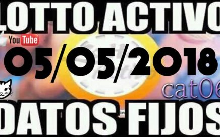 LOTTO ACTIVO DATOS FIJOS PARA GANAR  05/05/2018 cat06