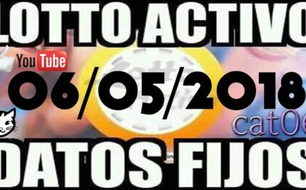 LOTTO ACTIVO DATOS FIJOS PARA GANAR  06/05/2018 cat06