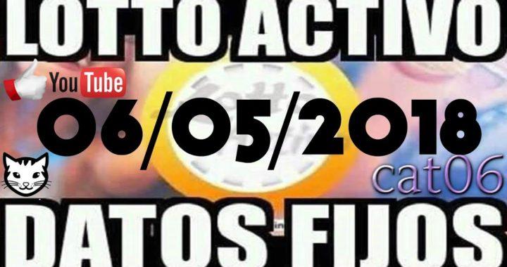 LOTTO ACTIVO DATOS FIJOS PARA GANAR  06/05/2018 cat06