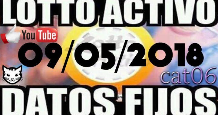 LOTTO ACTIVO DATOS FIJOS PARA GANAR  09/05/2018 cat06