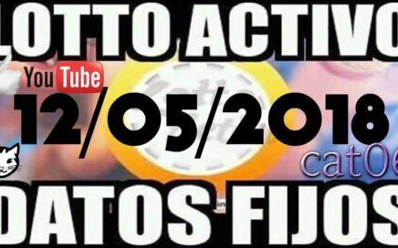 LOTTO ACTIVO DATOS FIJOS PARA GANAR  12/05/2018 cat06