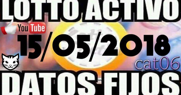 LOTTO ACTIVO DATOS FIJOS PARA GANAR  15/05/2018 cat06