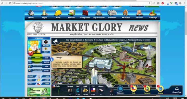 MarketGlory Gana Dinero Jugando | Prueba de Pago MarketGlory | Gokustian