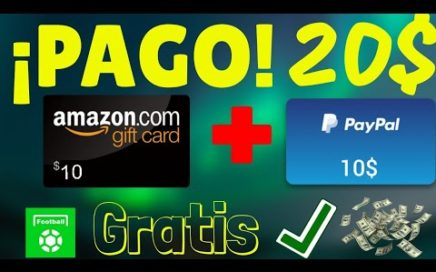 Me Gane 10$ Por Paypal + 10$ Por Amazon Con All football 2018 (Amadroid)