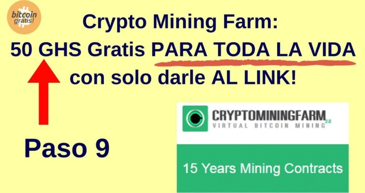 Mejor Estrategia CryptoMiningFarm para Ganar Bitcoins Gratis: 50 GHS Gratis!! HD (2018)