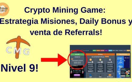 Mejor Estrategia CryptoMiningGame para Ganar Bitcoins Gratis: Misiones, Bonus y Referrals! HD (2018)
